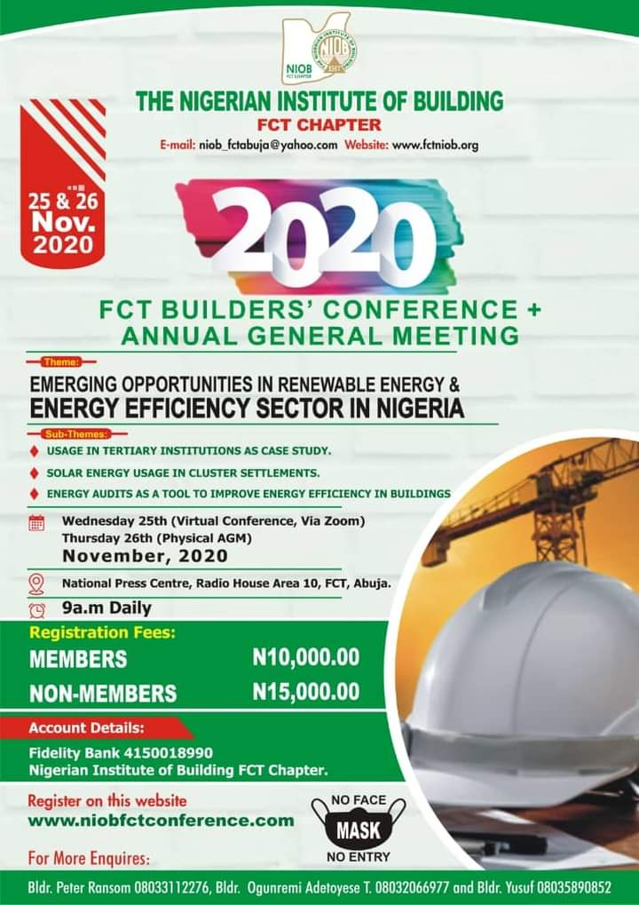 2020 Abuja AGM/Conference