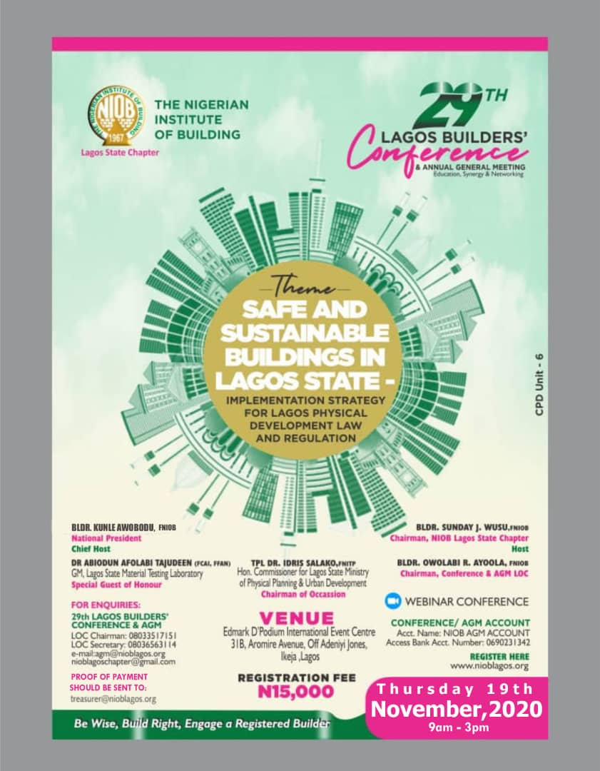 2020 Lagos AGM/Conference